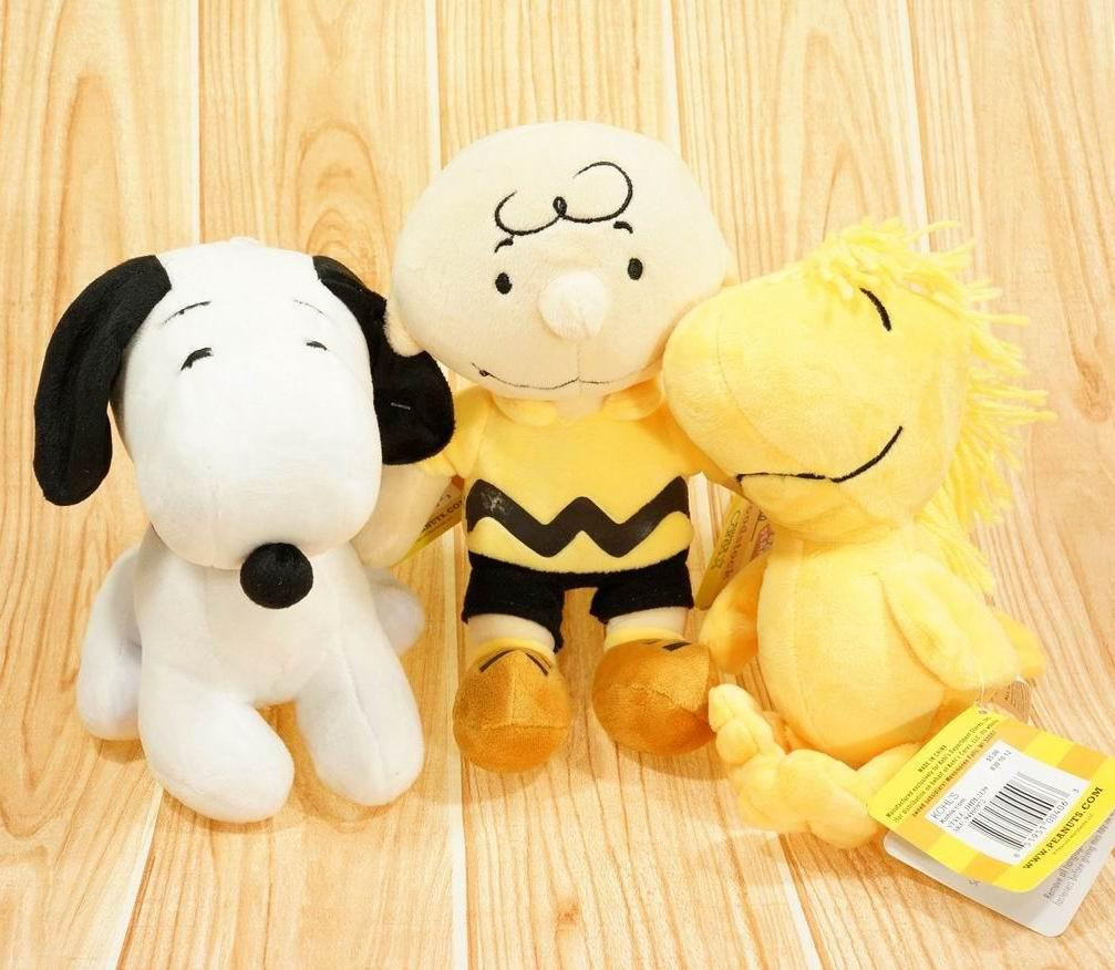 Online Cheap New Peanuts Comics Movie Charlie Brown And Snoopy Plush ...