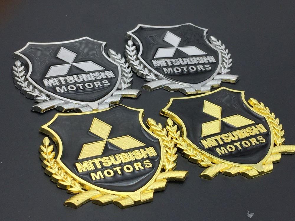 2018 Car Styling Metal Logo Sticker Modified Standard Column For