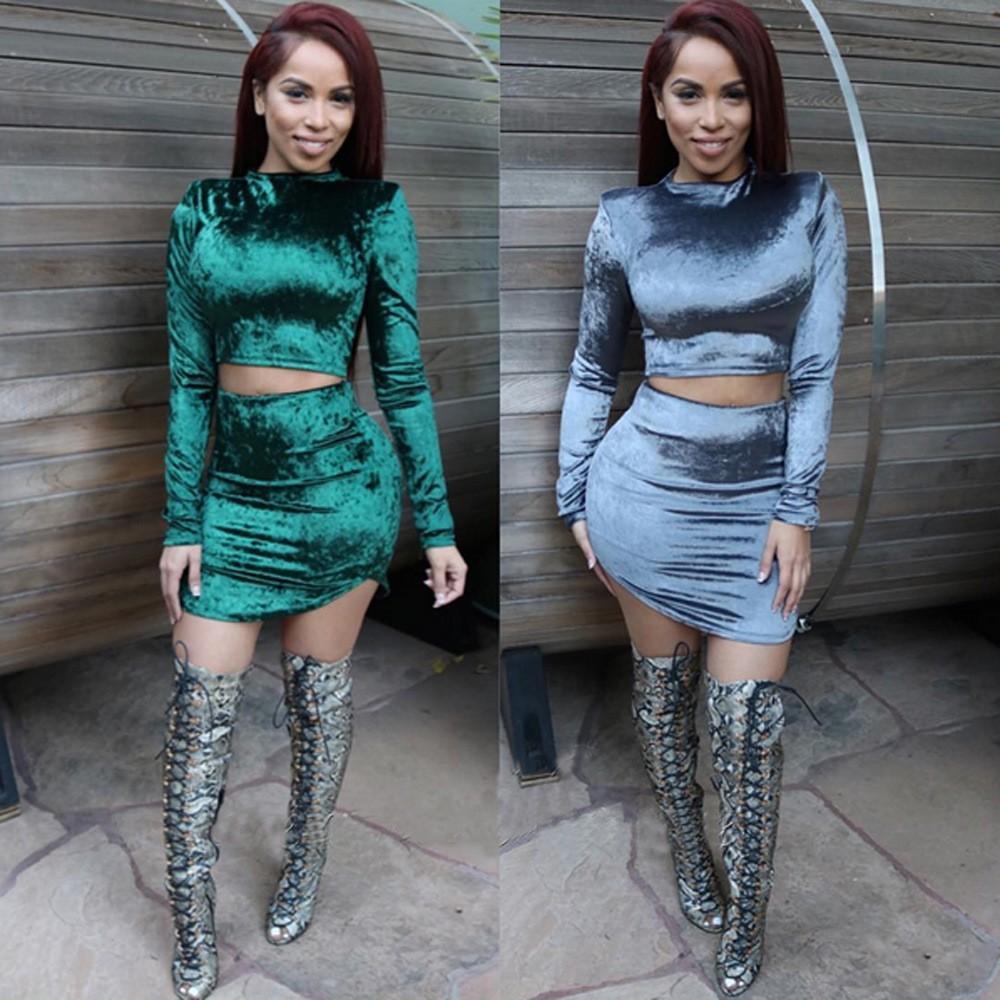 2018 2016 New Arrival Fashion Sexy Club Dresses Women\'S Velour ...