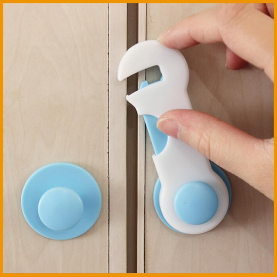Baby Kids Safety Lock Latches Care Prevent Child From Opening