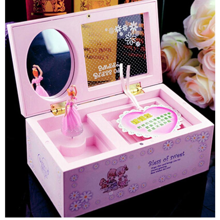 Mini Music Boxes For Jewelry Storage Box Lovely Musical Box