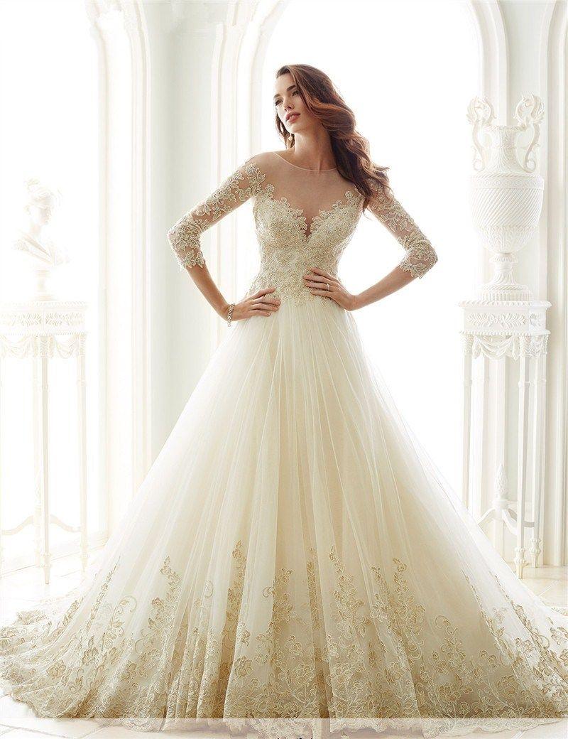 Discount Vestidos De Novia China Bridal Gowns Long Vintage Lace ...