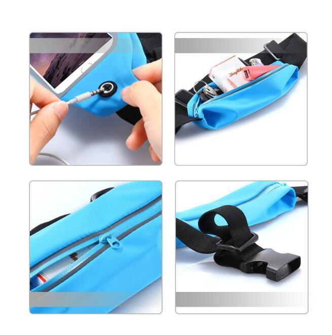 Gym Waist Bag Waterproof Sport Case For iPhone x 8 5s 6 6S 7 Plus Samsung Galaxy S6 s7 edge s8 note8 Running Wallet Mobile Phone Pouch