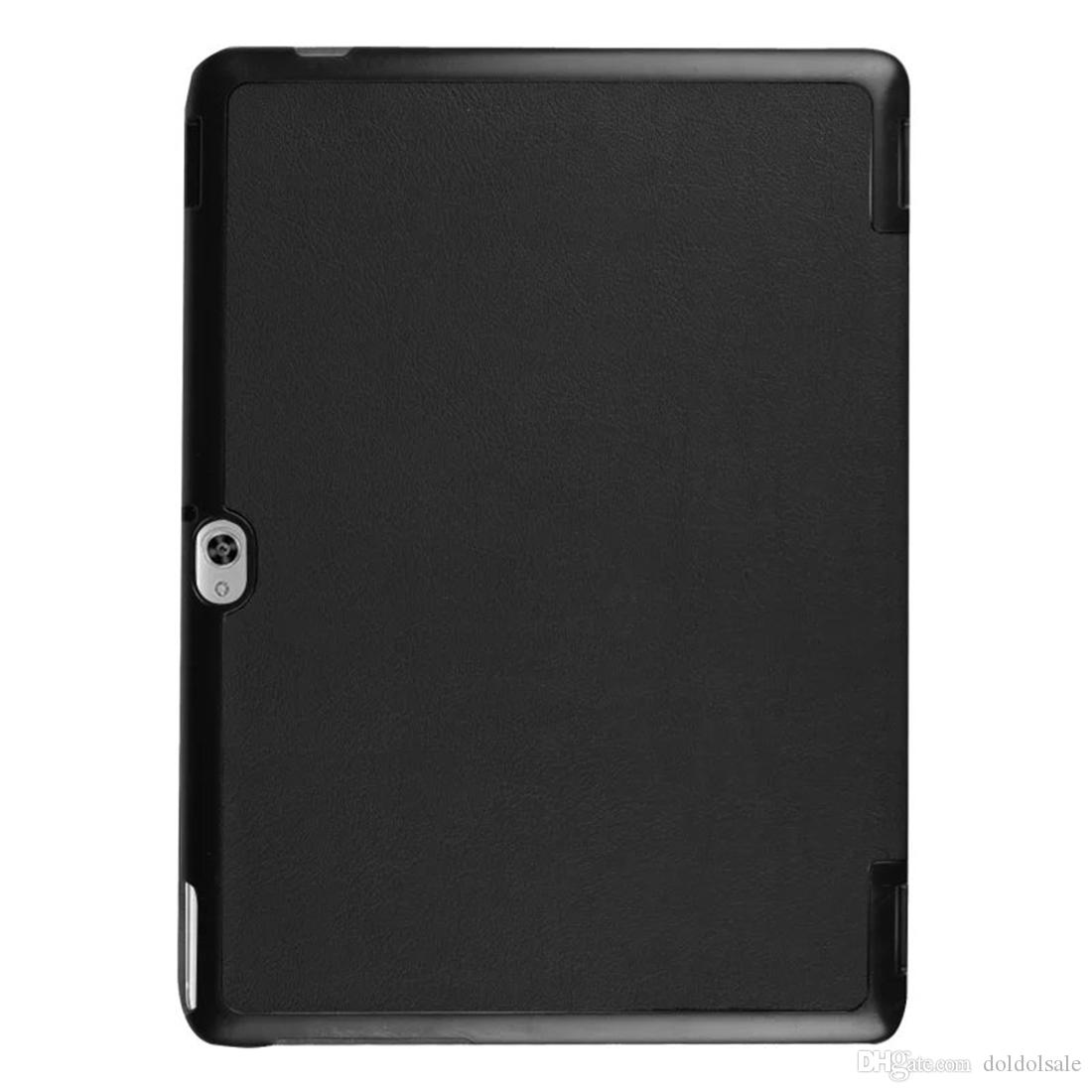 Ultra-thin PU Leather Cover for Huawei MediaPad M2 10.0 M2-A01L M2-A01M M2-A01W + Screen Protector Protective Film Tablet Case