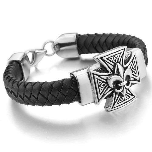 Bracelet inox pour homme