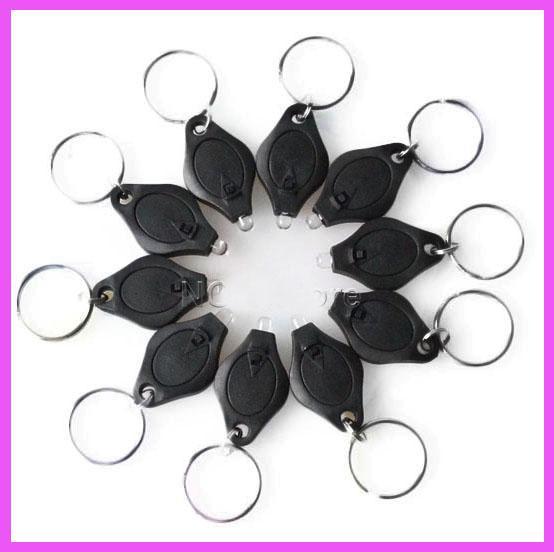 ニューブラック紫外線ミニ懐中電灯紫外線お金の検出器LEDキーホルダーライト多色小さな贈り物