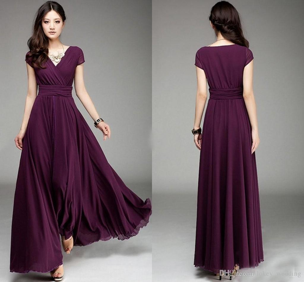 Burgundy country bridesmaid dresses a line chiffon cheap pleats burgundy country bridesmaid dresses a line chiffon cheap pleats floor length with short sleeves v neck maid of honor dress for wedding fuschia pink ombrellifo Choice Image