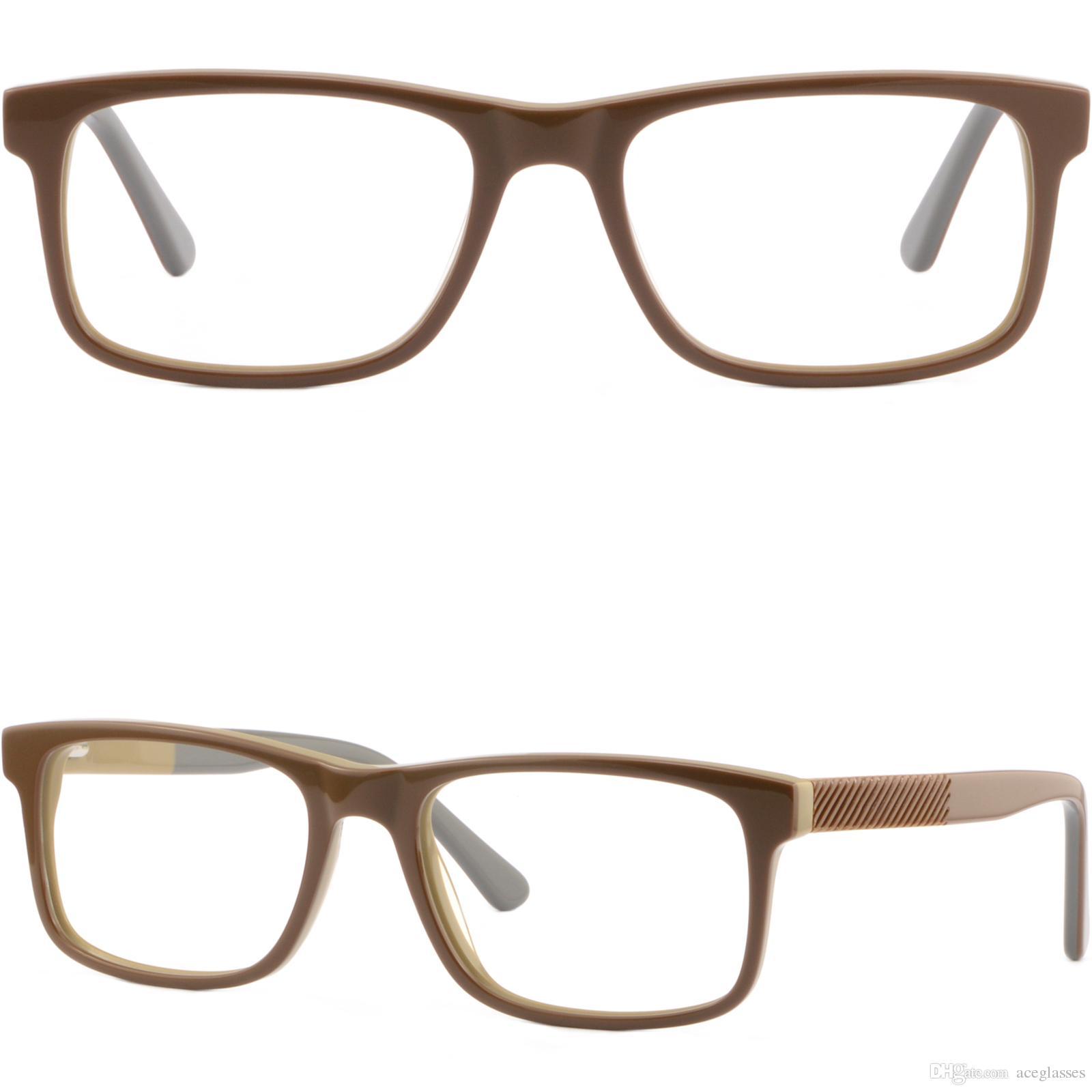 Compre Gafas Graduadas Rectangulares Del Marco Plástico Del Acetato ...
