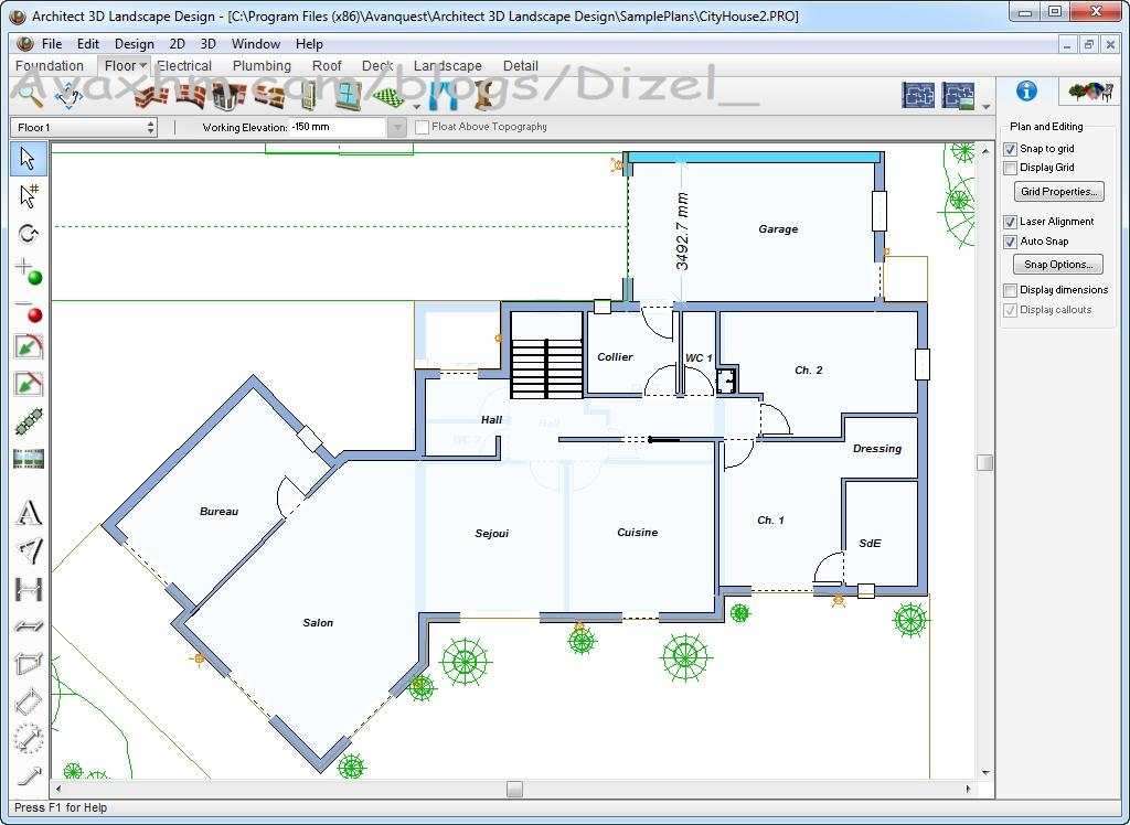 Architect 3d Landscape Design V18 Iso Architect 3d Design