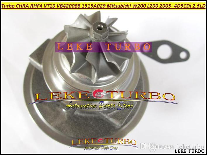 Turbo CHRA Núcleo Cartucho RHF4 VT10 1515A029 Turbocharger VA420088 VC420088 Para Mitsubishi W200 carro L200 Caminhão 4D5CDI 2.5L Di-D 4WD 98KW