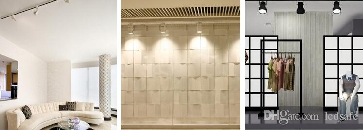 الصمام المسار الأضواء 9W متجر لبيع الملابس المطبخ المسار السكك الحديدية لمبات الإضاءة مصباح 9X1W السلطة العليا 9 واط بقعة الأنوار مصابيح الأحمر الأزرق الأخضر الأبيض