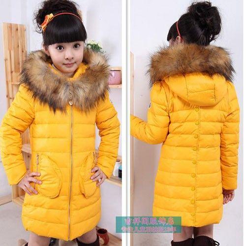 7df5c8564 Winter Girls Baby Clothes Children S Warm Long Fur Outerwear Sport ...
