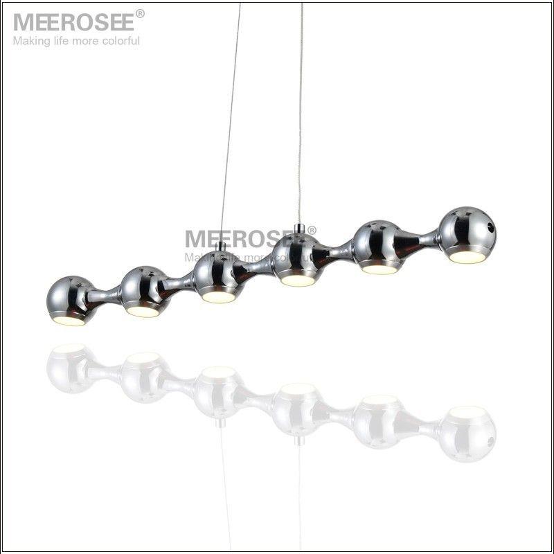 6 Watt Rectangle LED Chandelier Pendant Light Fitting Modern Downlight Suspension Drop Pendant Lamp Hanging Lighting