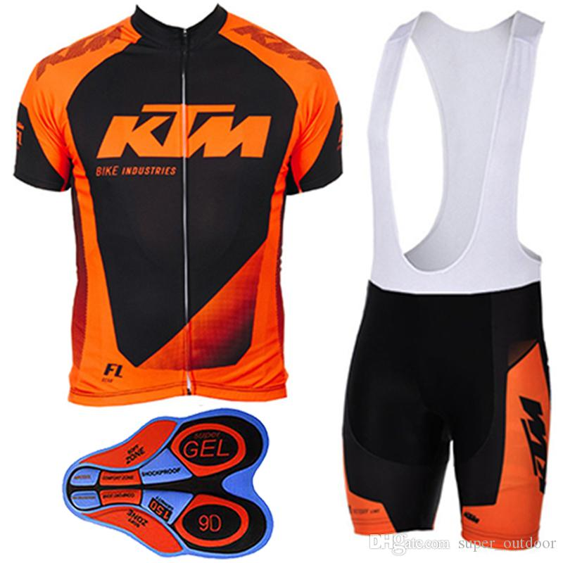 2017 KTM Cycling Jerseys Short Sleeves Summer Style For Men MTB Ropa ... 54528e24f