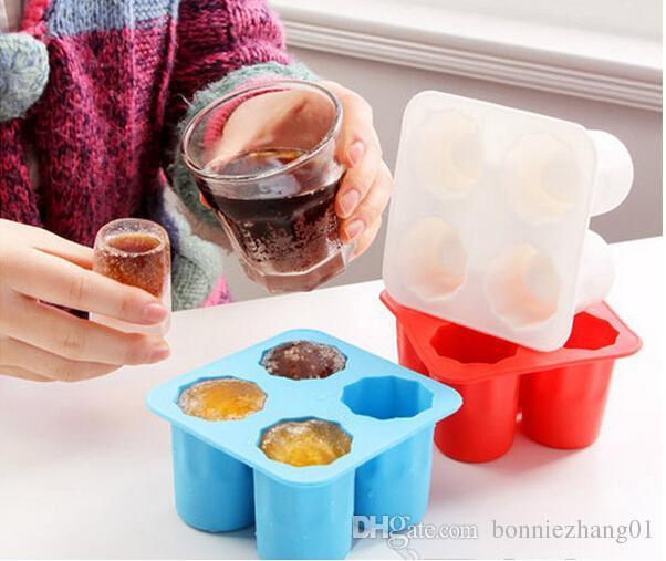 아이스 큐브 트레이 금형 실리콘 케이크 도구 아이스크림 아이스 콜라 금형 케이크 몰드 요리 도구