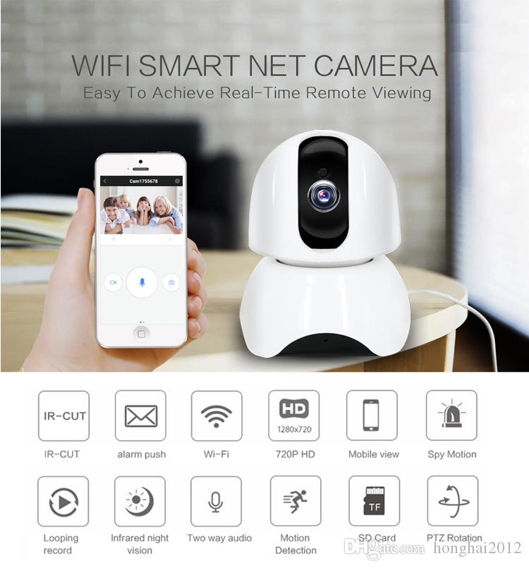 home security alarm system night vision wireless video baby monitor camera