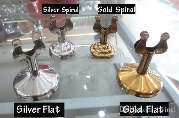 casamento lugar cartão titulares mesa número suporte de prata de ouro decoração de mesa de suporte de cartão da tabela cartão de visita 4 centímetros inoxidável titulares de pé
