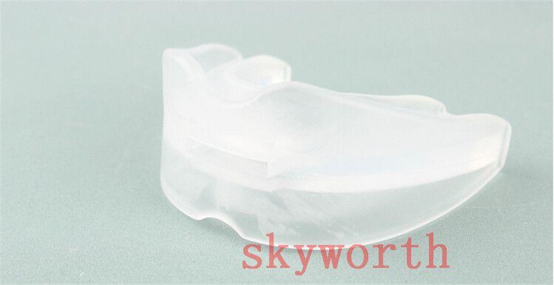 ANTI SNORE Stop ronquido boquilla ronquido suave silicio contra el ronquido Sleeping Aid evita el molido de los dientes Kit