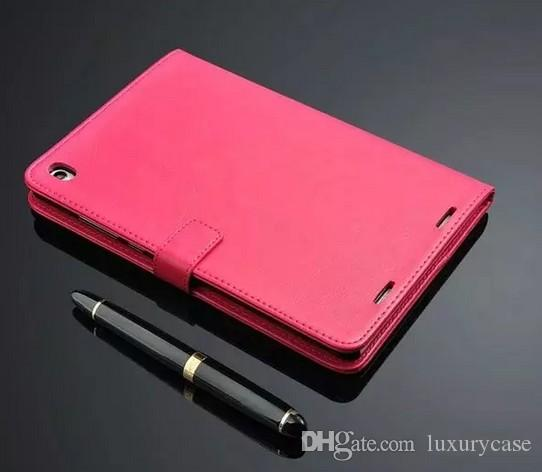 Business Fall für Xiaomi Mipad Fall Luxus Brieftasche Flip Stand Bunte Original Foto dünne dünne Ledertasche für Xiaomi Mi Pad Mipad 1