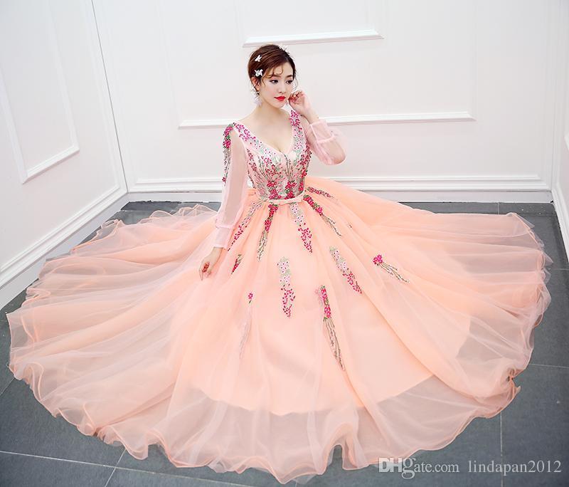 Velnosa Pink Princess Organza New Summer Girls Wedding Dress 2017 ...