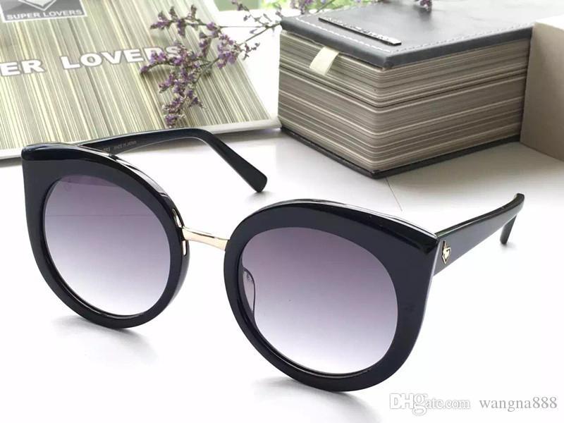 65f472a78871 Супер любовники Высокое качество Бренд Дизайнер Солнцезащитные очки Мода  женщин ...