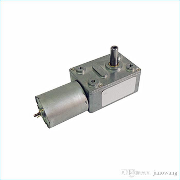 웜 기어 박스 모터, DC 6V 12V 24V 높은 전기 모터 토크 광장 기어 박스 모터, J14469