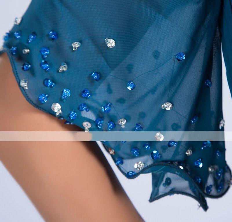 Nuovo abito da sera formale Colonna manica corta con maniche con scollo a V e lunghezza a terra in chiffon