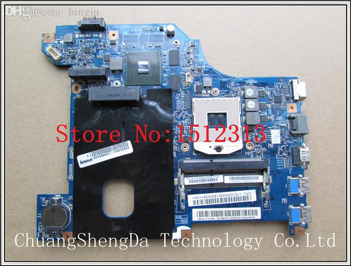 Wholesale-For Lenovo G480 Laptop motherboard LG4858 MB 11252-1 48.4SG11.011 N13M-GE-B-A2 Mainboard 100% fully tested