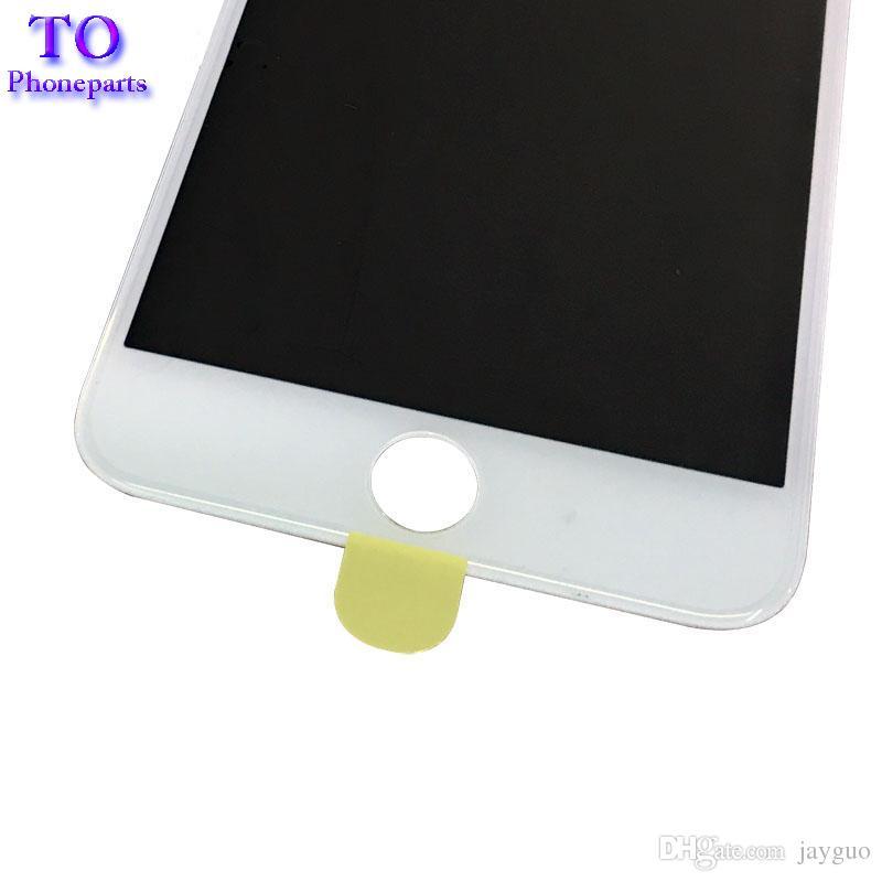 4 in 1 Soğuk Pres Ön Ekran Dış Cam Çerçeve ile OCA + Polarize iPhone 7 6 6 s artı 5 5 s Ekran Değiştirme