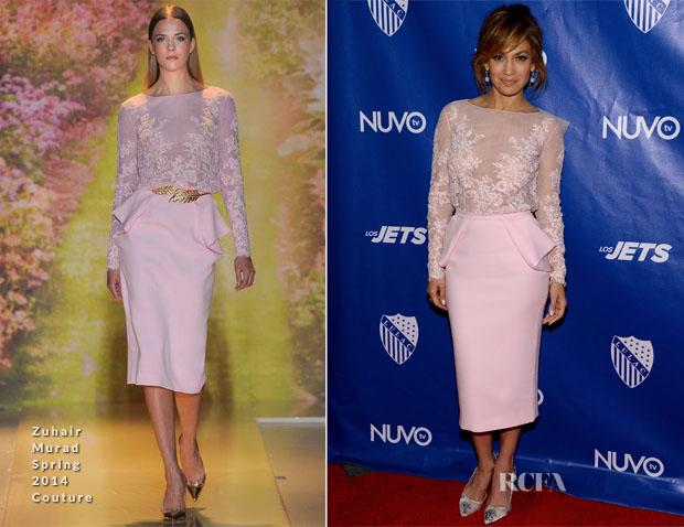 2015 Zuhair Murad Pink Cocktail Dresses Sheer Neck Long Sleeve Sheath Crew Knee-Length Prom Dresses Homecoming Dresses Formal Gowns Cheap