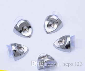 A nova placa de camada segura sete palavras de vidro segura a partição para separar as unhas / 4 sacos com parafusos