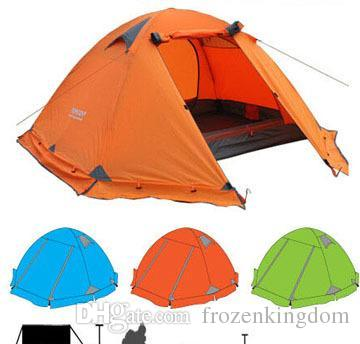 Famous Brand Best Quality Double Layer 2 Person Tent C&ing Tents With Snow Skirt 1027#27 Mountain Climbing Equipment Climbing Shoes Uk From Frozenkingdom ...  sc 1 st  DHgate.com & Famous Brand Best Quality Double Layer 2 Person Tent Camping Tents ...