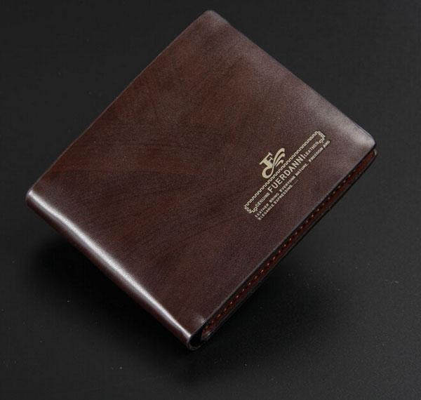 Spring Brand new Business brand mens Geniune Leather Wallet Pockets Card Clutch Cente Bifold Purse designer wallets