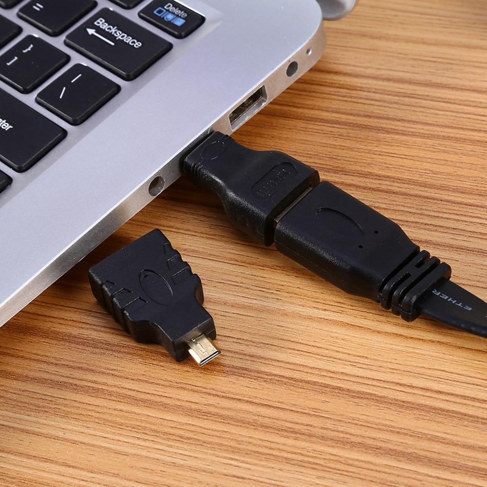 3 In 1 Da HDMI a HDMI / Mini Da HDMI a Micro HDMI Adattatore placcatura oro Xbox360 PS3 HDTV