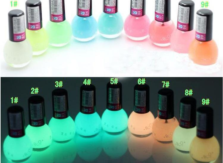 Wholesale Candy Colorful Magic Luminous Gel Nail Art Polish Uv Nail