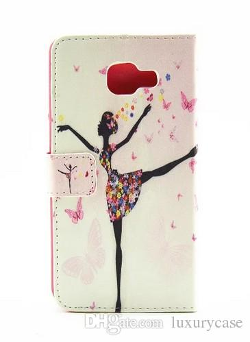 Excellence For Samsung A3100 Case Diamond Wallet Flip Slim Cute Cover Mobile Phone Case For Samsung Galaxy A3 2016 A310F A310 A3100