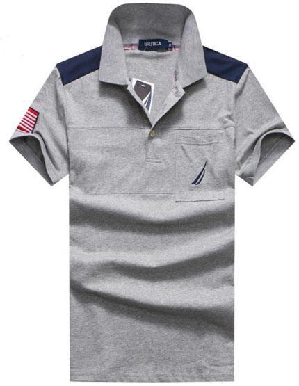 cbe7ea8d6 Cool American Fashion Nautica Men Polo Shirt Casual Polos USA ...