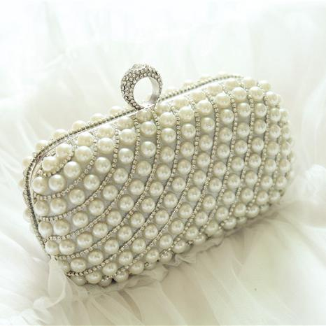 Pearls 2016 Bridal Hand Bags Crystal Fancy Handbag New Arrive ...