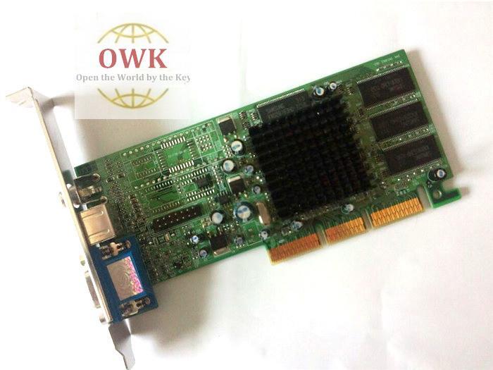 Spedizione gratuita Radeon7000 VGA * TVO * AV 64M dalla fabbrica