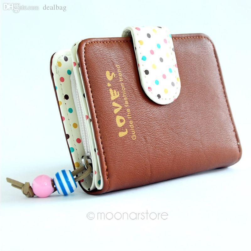 852415db40 Wholesale 2015 New Fashion Colorful Lady Candy Color Lovely Purse Clutch  Women Wallets Short Small Bag PU Leather Card Hold M B9065 M4 Western  Wallets Vegan ...