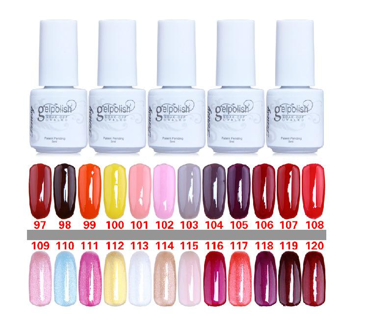 factory direct!! high quality soak off gel polish nail gel lacquer varnish for nail polish uv gel 5ml