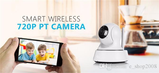 SANNCE Wifi IP Camera Wireless Table Clock Alarm 720P HD Mini In/Outdoor Home Security Surveillance CCTV IR Night Vision DVR Baby Monitor