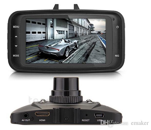"Hot Brand New GS8000L 2.7"" Car DVR Vehicle Camera Video Recorder DashCam G-sensor Camera DHL"