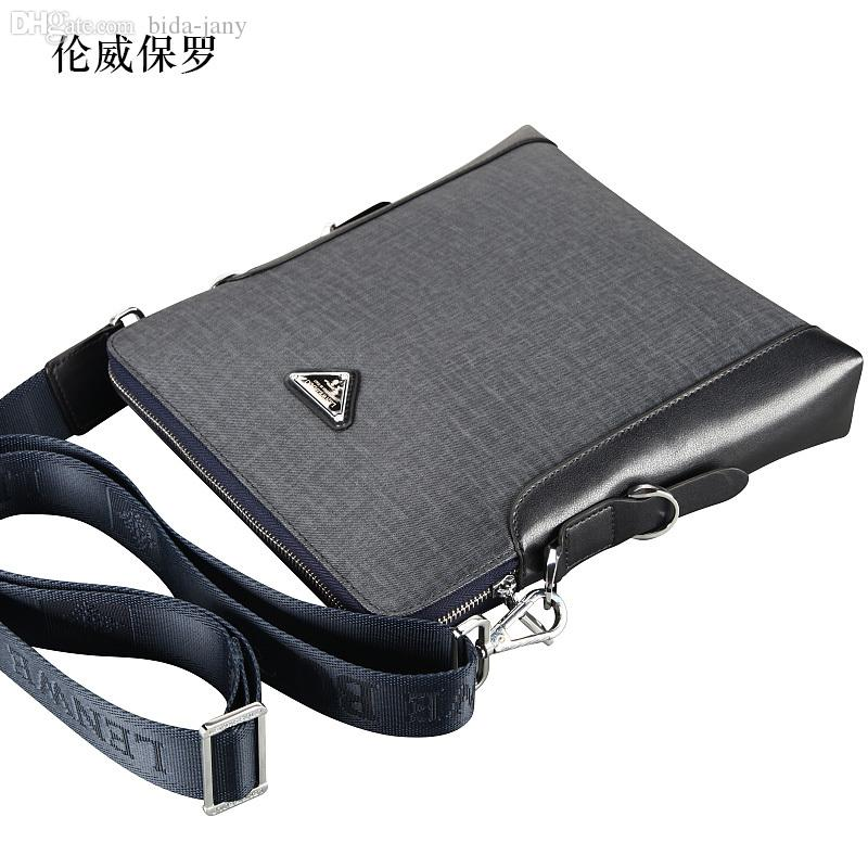 Wholesale-Hot Sale!! New Fashion LENWE BOLO PVC Men Shoulder Bag ... bb5f24deea8aa