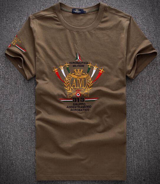 Funny New Summer AERONAUTICA MILITARE Casual Men POLO Shirt Fashion ... 8dd3c5625
