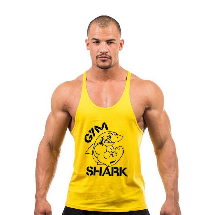 820af700 2019 Men'S Bodybuilding Muscle Deep Cut GYMSHARK Golds Gym Stringer Tank  Tops Gym Vest Fitness Clothes Workouts Sports Singlets Vest From  Tim_cai2000, ...