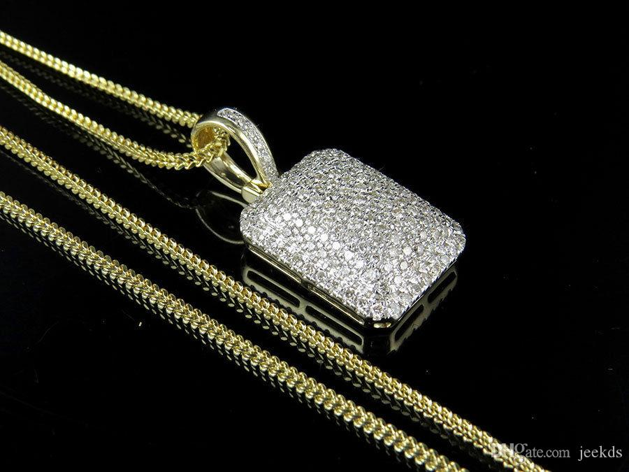 gold pendant so yellow boyz icey custom diamond chains ctw real