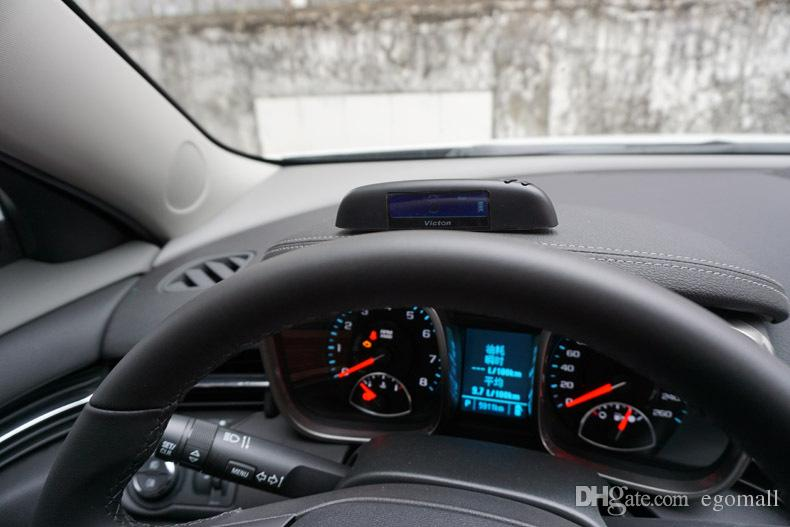 Sistema de control de presión de neumáticos Victon TPMS con 4 sensores externos TPMS de alta calidad para su seguridad Soporte BAR y PSI