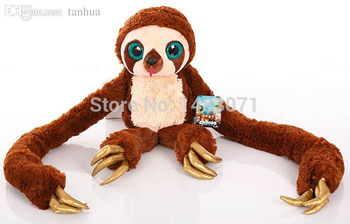 2018 wholesale 25cm 10 inch the crood long arm monkey belt lovely