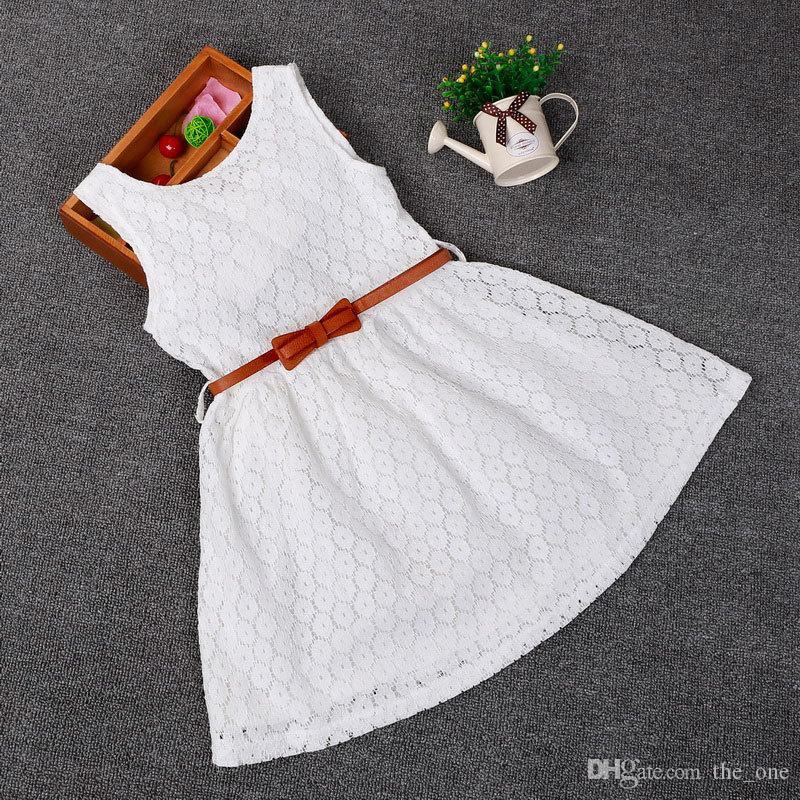 e15d4fbef High Quality Simple Handmade Flower Cheap Little Girls Dress Baby ...